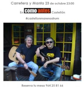 Carretera y Manta castellonmarenostrum 23102014