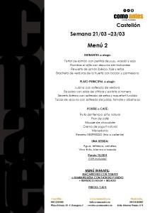 menu 2 semana 21.03-23.03