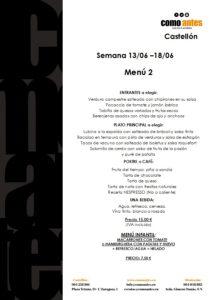 menú 2 semana 13.06-18.06