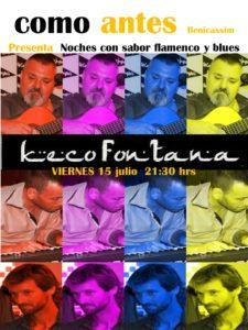 Keco Fontana como antes Benicassim 15072016