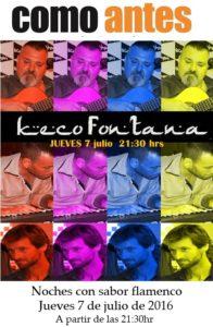 Keco Fontana como antes Benicassim 7 de julio 2016