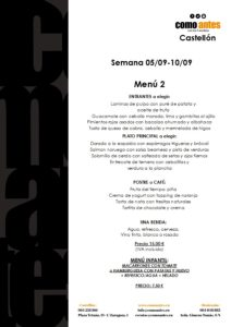 menú 2 semana 05.09-10.09