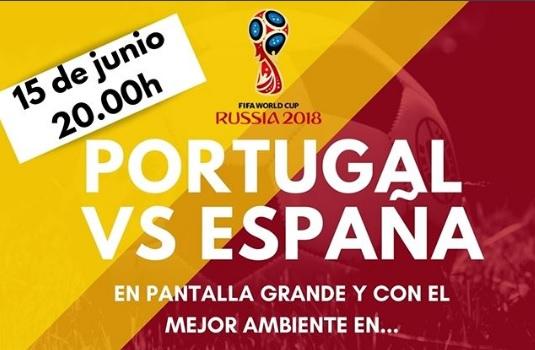 Primer partido de España en el Mundial de Rusia